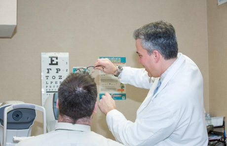 New Jersey Eye Center Vision Exam by Dr James Dello Russo