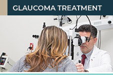 Glaucoma specialist Dr. Frank Parisi diagnosing patients eyes at New Jersey Eye Center in Bergenfield